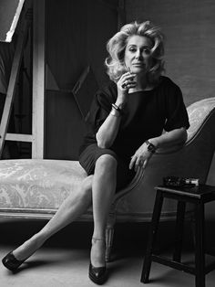 catherine deneuve | Two faces of Catherine Deneuve