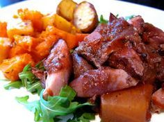 pear and ostrich casserole