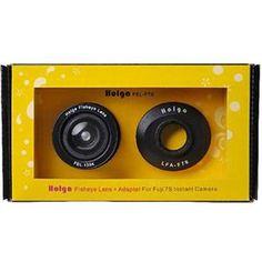 Holga FEL-F7S: Fisheye Lens for Fujifilm Instax Mini 7s - Adorama