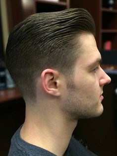Great cut from americanhaircuts.com Mens Hairstyles Pompadour, Classic Mens Hairstyles, Pompadour Men, Undercut Hairstyles, Hairstyles Haircuts, Haircuts For Men, Trendy Hairstyles, Modern Pompadour, Classic Mens Haircut
