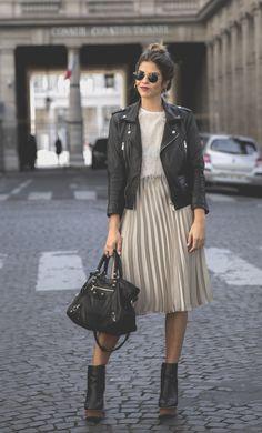 La autora de Trendy Taste inspira nuestro look del día con un look en...