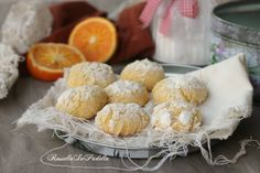 Biscotti all'arancia – orange crackles cookies