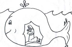 Jonah Coloring Pages | Jonah and the Whale | Jonah prophet