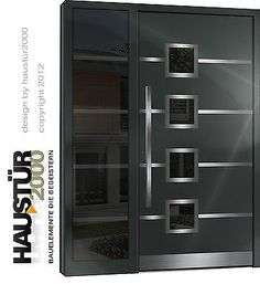 Modern Entrance Door, Modern Exterior Doors, Modern Wooden Doors, Wooden Front Door Design, Double Door Design, House Main Gates Design, House Design Photos, Pooja Room Door Design, Door Design Interior