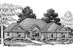 ???Eplans Traditional House Plan - Four Bedroom Traditional - 3050 Square Feet and 4 Bedrooms from Eplans - House Plan Code HWEPL64490