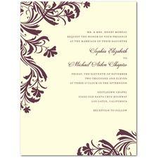 Vintage Pattern Vintage Wedding Invitations