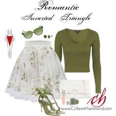 Romantic Inverted Triangle