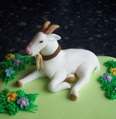 Bea, the goat Cake : Ninucake Decorating Laboratory