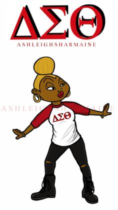 Thirty 90s Cartoon Characters Reimagined As Members Of Black Fraternities And Sororities! (Dijonay from Proud Family)
