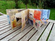 The whole Collage Mini Book 4 by LaWendeltreppe, via Flickr