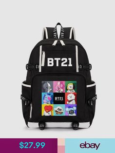 Buy Cheap Bt21 Mochila Bts Rucksack Laptop Men Seventeen Rugzak Kpop School Bags For Teenage Boys Twice Rugtas Women Backpack Big Bagpack Men's Bags Luggage & Bags