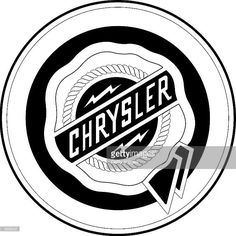 The Chrysler logo is seen in this undated handout image. DaimlerChrysler AG January 29, 2001 announced 26,000 job losses at its ailing Chrysler unit affecting plants in Canada, the U.S., Mexico and South America over the next three years.