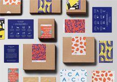 ACC Promotional Package on Behance Cookies Branding, Bakery Branding, Packaging Stickers, Label Stickers, Creative Box, Brand Packaging, Jewellery Packaging, Luxury Packaging, Soap Packaging