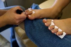 love getting pedicures