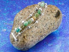 Free Ideas: Artbeads.com - Skipping Stones Bracelet
