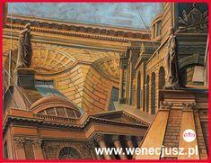 Pintura - arquitectura. ESCUELA DE DIBUJO Y PINTURA wenecjusz.pl Technical University, Learn To Draw, Louvre, Fine Art, Drawings, Building, Places, Travel, Painting