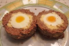 """Hidden eggs"" - Hey, they don't even try! That's Hard boiled eggs wrapped in minced meat."