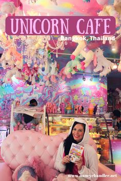 The Unicorn Cafe in Bangkok is one of the top cafes and restaurants to visit while you are in Bangkok. Very photo friendly and the food is delicious. See our Bangkok Travel Map for more amazing places in Bangkok.