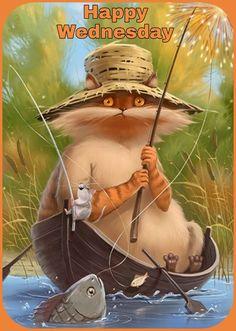 Art And Illustration, Illustrations, Cute Animal Drawings, Cute Drawings, Fantasy Kunst, Fantasy Art, Bisous Gif, Funny Art, Whimsical Art