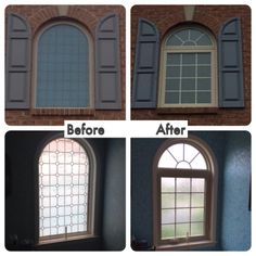 Casement Replacement Window With Internal Colonial Style