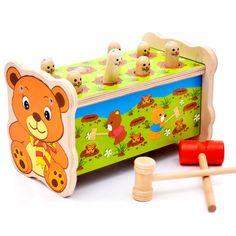 11 11 2016 Simingyou Noise Maker Montessori Wooden Toys For Children Wood Baby Toys Musical Instrument Wood Sound Knock Ball Baby Hamster, Hamster Toys, Toddler Toys, Baby Toys, Kids Toys, Children's Toys, Educational Toys For Kids, Learning Toys, Toy Musical Instruments