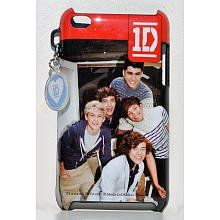 """One Direction iTouch Case by One Direction. $7.99. Features a group shot of the band. Officially Licensed Product. Decorate your favorite electronic item. From the Manufacturer                One Direction is an English-Irish group, consisting of members Niall Horan, Zayn Malik, Liam Payne, Harry Styles and Louis Tomlinson. The group is often described as sparking the resurgence in the boy band concept and of forming part of a new """"British Invasion"""" in the United Stat..."""