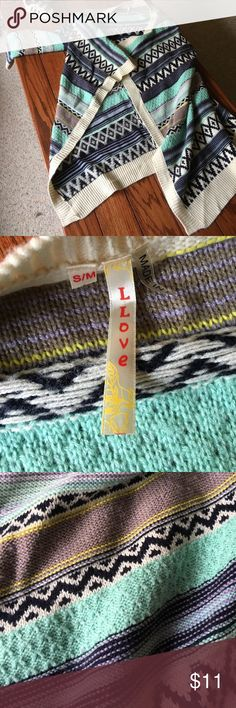 Sweater cardigan Great knee length sweater cardigan! Sweaters Cardigans