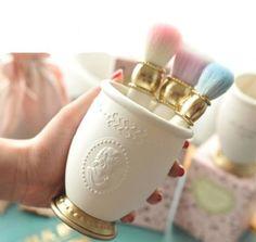 Professional Makeup Cosmetics Brushes Mirror Holder Brand Premium Quality Luxury…