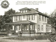 my house....a hundred years ago :-)  I wanna paint it RED!