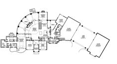 European House Plan 101S-0026 First Floor | House Plans and More