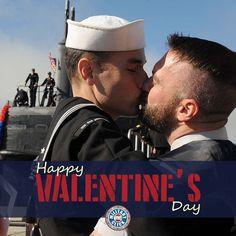 www.militaryoneclick.com Lgbt Couples, Cute Gay Couples, San Francisco, San Diego, Us Navy, Gay Mignon, Gay Lindo, Men Kissing, Best Kisses