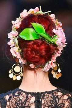 Dolce Gabbana SS2014 #red