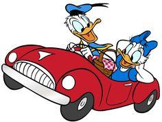daisy donald duck   Donald Daisy Duck Car Nice Wallpaper