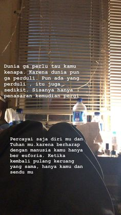 Pin by AnnisaFitrianiAzzahra on a Story Quotes, Mood Quotes, Daily Quotes, Life Quotes, Tumblr Quotes, Text Quotes, Quotes Quotes, Quotes Lockscreen, Cinta Quotes