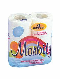 Carta igienica 4 rotoli Morbity