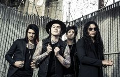 """Escape The Fate are streaming a new song """"Remember Every Scar"""" below. Their new album 'Hate Me' will be release on October 30 via Eleven Seven Music."""