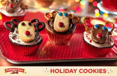 These festive, friendly Reindeer Cupcakes make the season extra sweet!Get the recipe >