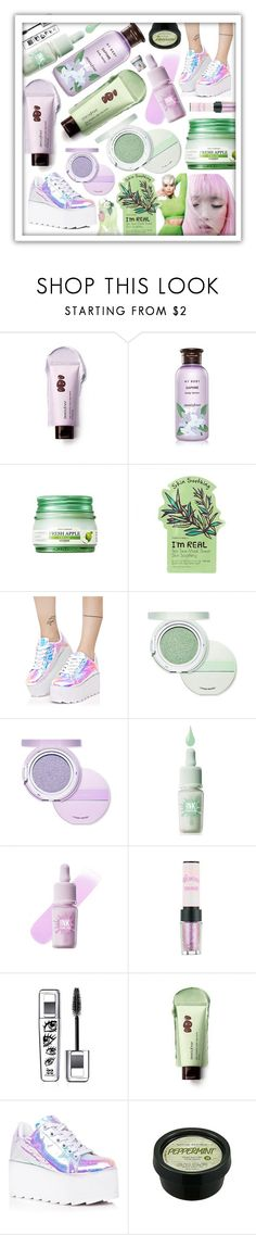 """""""Fresh Lilac Mint"""" by beanpod ❤ liked on Polyvore featuring Innisfree, Y.R.U., Etude House and nature republic"""