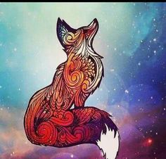 Dream fox sketch