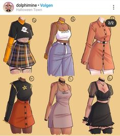 Teen Fashion Outfits, Anime Outfits, Fashion Art, Girl Outfits, Cartoon Outfits, Fashion Design Drawings, Fashion Sketches, Kleidung Design, Drawing Anime Clothes