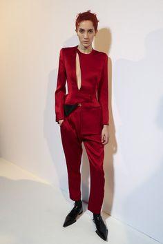 Haider Ackermann at Paris Fashion Week Spring 2018 - Backstage Runway Photos