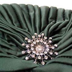 Womens Turban Fashion Turban Ladies Turban Hat Jade by curtainroad