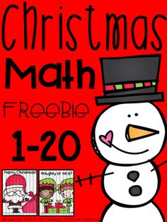 Tis the season to be jolly...but learning and revising as well!!! 1-10 and 11-20 counting puzzles with a Christmas theme! Simply print, cut and you're ready to go!K.CC.A.1 - MATH COMMON CORE ALIGNEDMerry Christmas!*****************************************************************************Related ProductsSpring Math Packet.Winter Fun Math Packet.I Need to Work On...My Math.September Literacy and Math Centers.Place…
