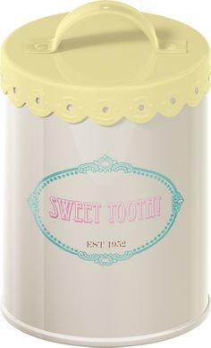 Retro Treats Sugar Tin