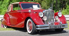 1951 Jaguar Mark V Drophead Coupe - Maroon