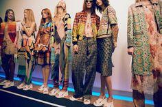 Dries Van Noten SS15, womenswear, Dazed backstage