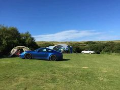 Camping with my Porsche