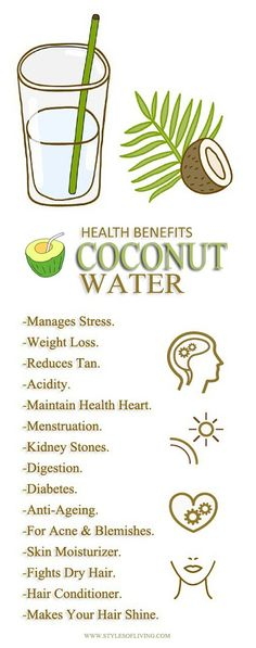 Coconut Water - Benefits And Advantages