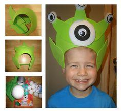 Fun craft idea: Alien Visors