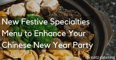 New Festive Specialties Menu to Enhance Your Chinese New Year Party - Read here: http://eatzcatering.com/blog/new-festive-specialties-menu-to-enhance-your-chinese-new-year-party/. For a halal certified food caterer in Singapore go here:http://eatzcatering.com #eatzcatering #chinesenewyearfeast #cnyfeast #festivespecialtiesmenu #paradisetreasurepot #prosperitypremiumpot #singaporecaterer #singaporecatering #yushengsingapore